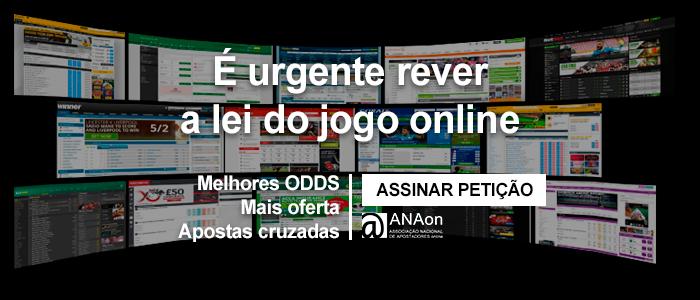 Assinar petição para revisão urgente da lei do jogo online